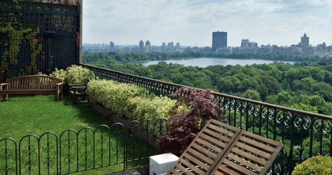 Озеленение и сады на крышах и балконах
